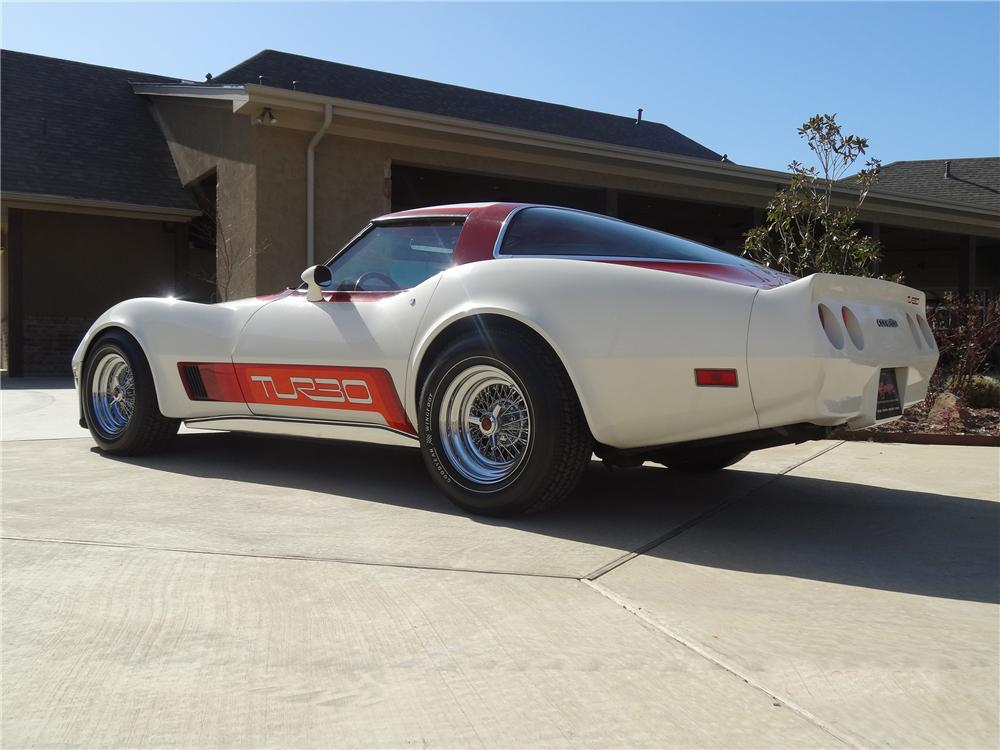 1980 CHEVROLET CORVETTE 2 DOOR COUPE - Rear 3/4 - 151688