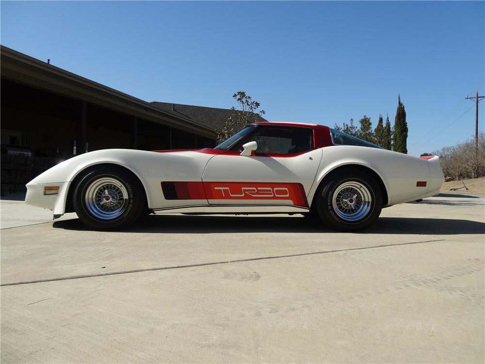 1980 CHEVROLET CORVETTE 2 DOOR COUPE - Side Profile - 151688
