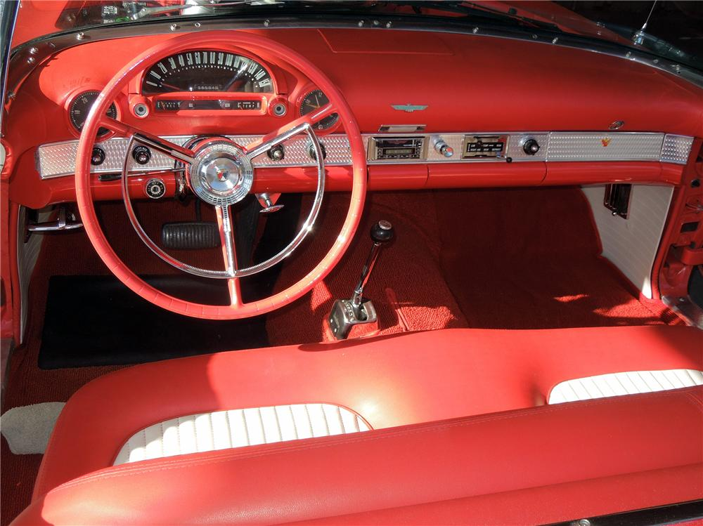 1956 FORD THUNDERBIRD CONVERTIBLE - Interior - 151690