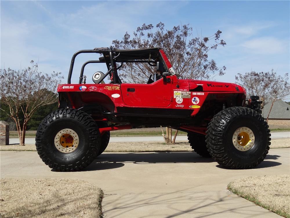 2000 JEEP WRANGLER CUSTOM 4X4 - Side Profile - 151692