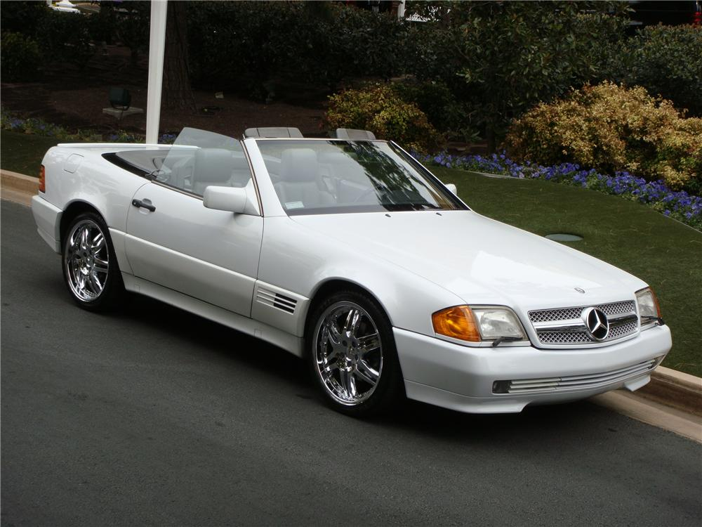 1991 mercedes benz 500sl convertible 151694