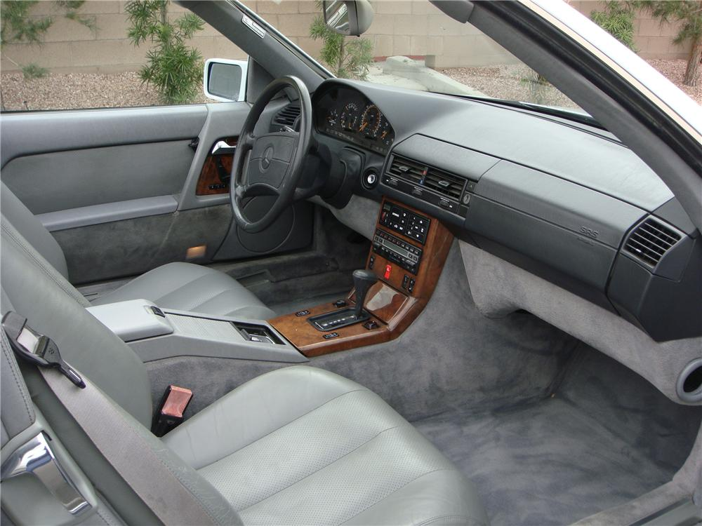 1991 mercedes benz 500sl convertible 151694. Black Bedroom Furniture Sets. Home Design Ideas