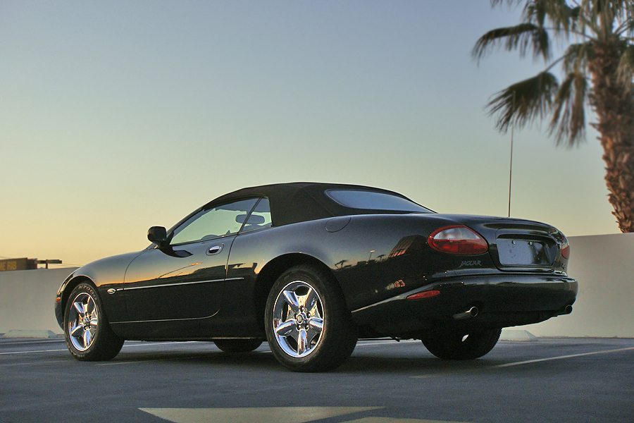 1997 JAGUAR XK CONVERTIBLE - Rear 3/4 - 151699