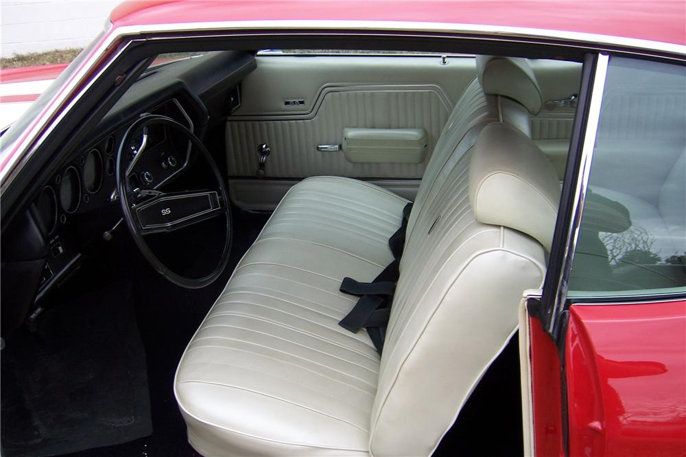 1970 CHEVROLET CHEVELLE SS 396 2 DOOR COUPE - Interior - 151708