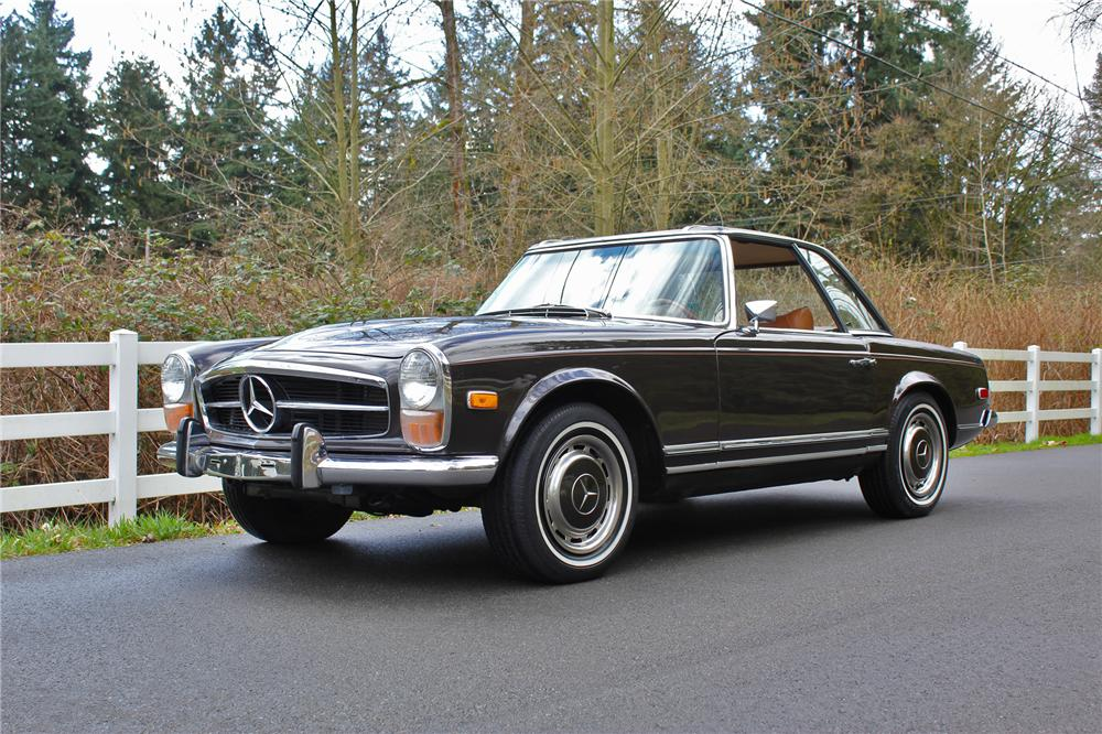 1971 MERCEDES-BENZ 280SL CONVERTIBLE - Front 3/4 - 151710