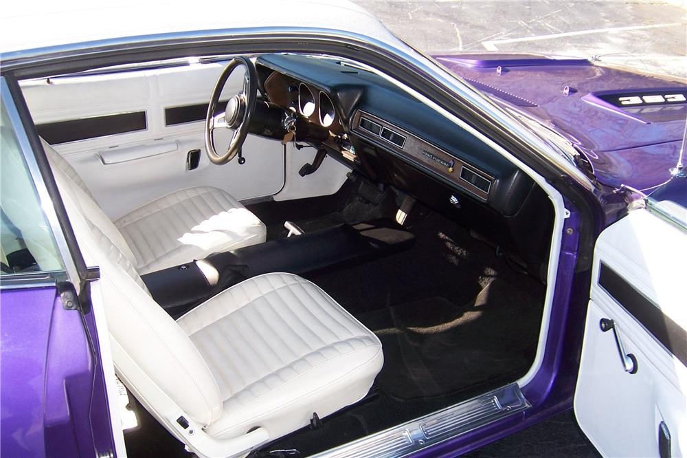 1971 PLYMOUTH ROAD RUNNER 2 DOOR HARDTOP - Interior - 151711