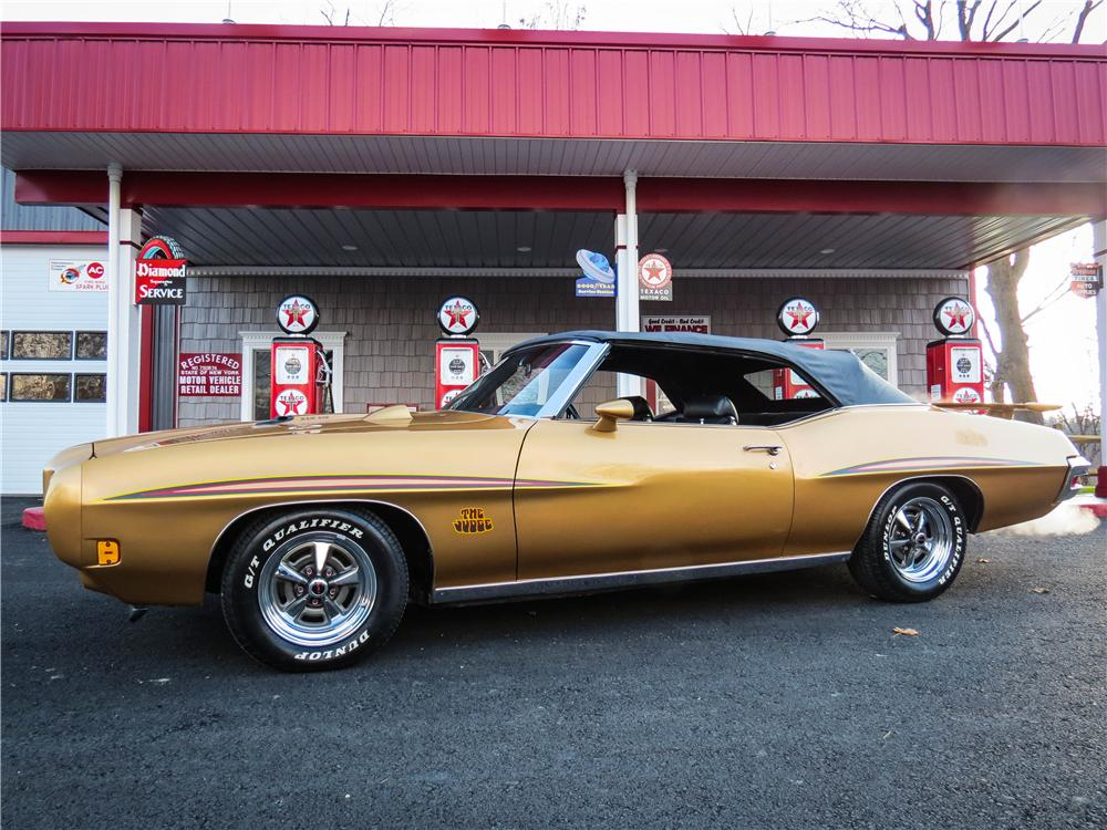 1970 PONTIAC GTO CONVERTIBLE - Side Profile - 151713