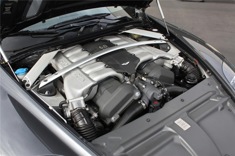 2006 ASTON MARTIN DB9 VOLANTE CONVERTIBLE - Engine - 151714