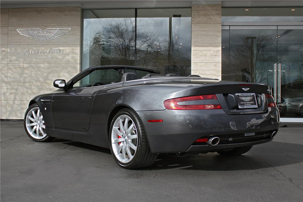 2006 ASTON MARTIN DB9 VOLANTE CONVERTIBLE - Rear 3/4 - 151714