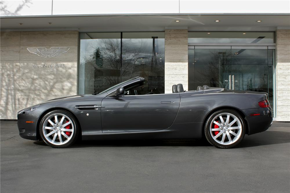2006 ASTON MARTIN DB9 VOLANTE CONVERTIBLE - Side Profile - 151714