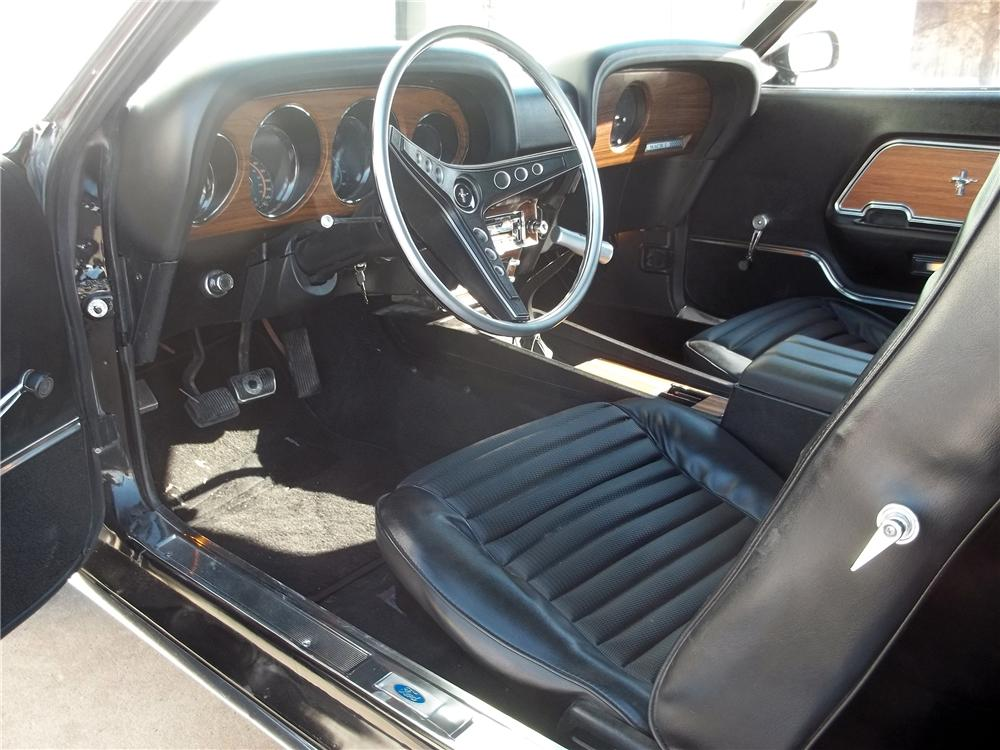 1969 FORD MACH 1 CUSTOM FASTBACK - Interior - 151717