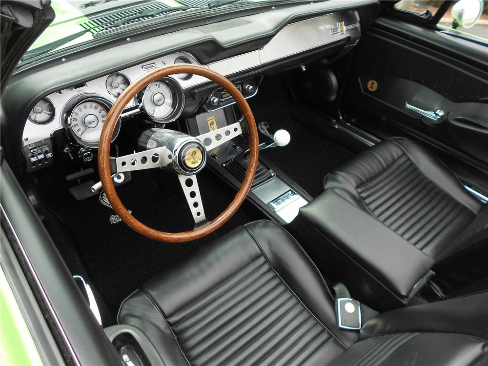 1967 ford mustang custom convertible 151718 - Interior ford mustang ...