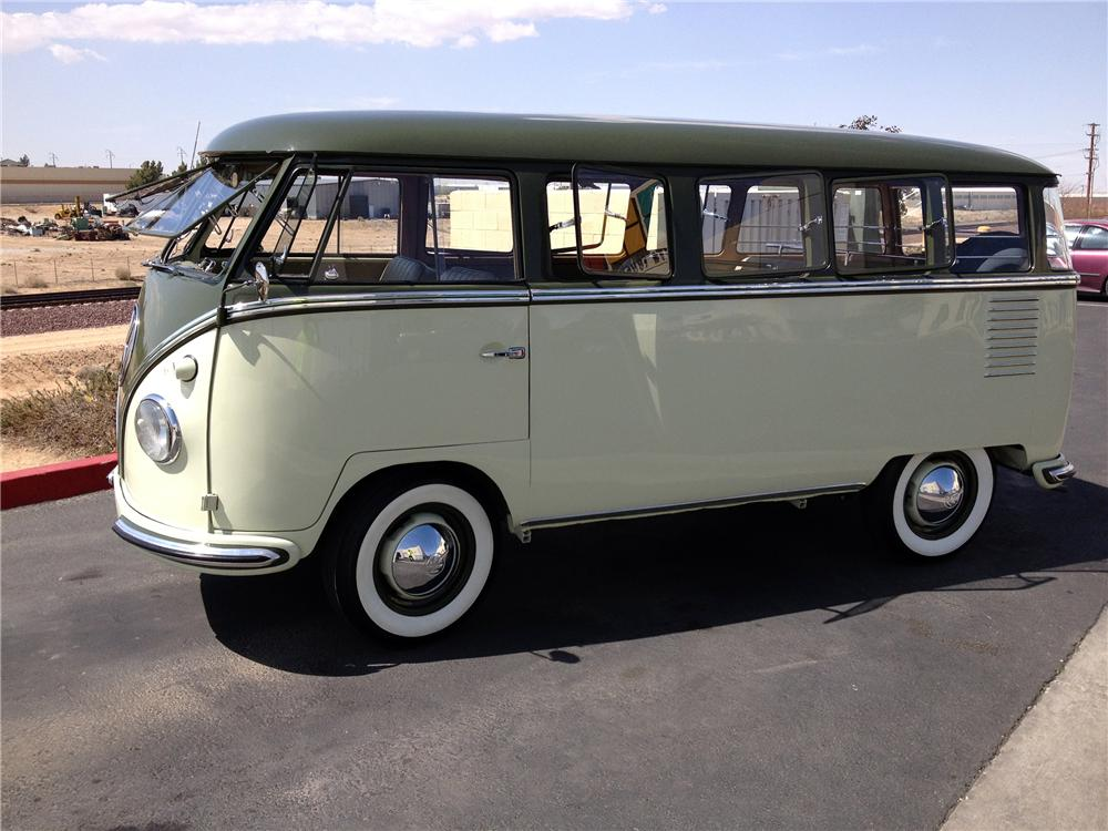 1958 volkswagen deluxe 15 window bus 151721 for 1958 vw bus 23 window