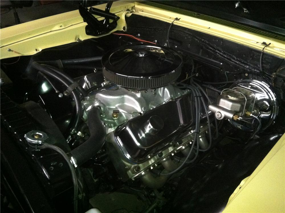 1967 CHEVROLET CHEVELLE SS 396 CONVERTIBLE - Engine - 151725