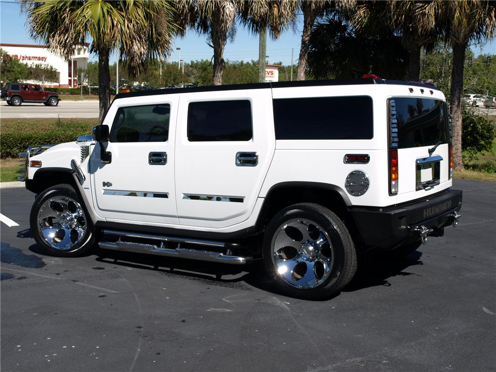 2003 HUMMER H2 CUSTOM SUV - Rear 3/4 - 151728