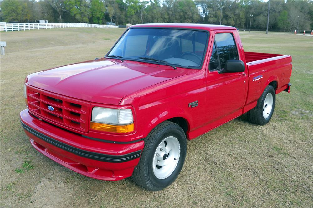 1994 FORD F-150 LIGHTNING PICKUP - Front 3/4 - 151729