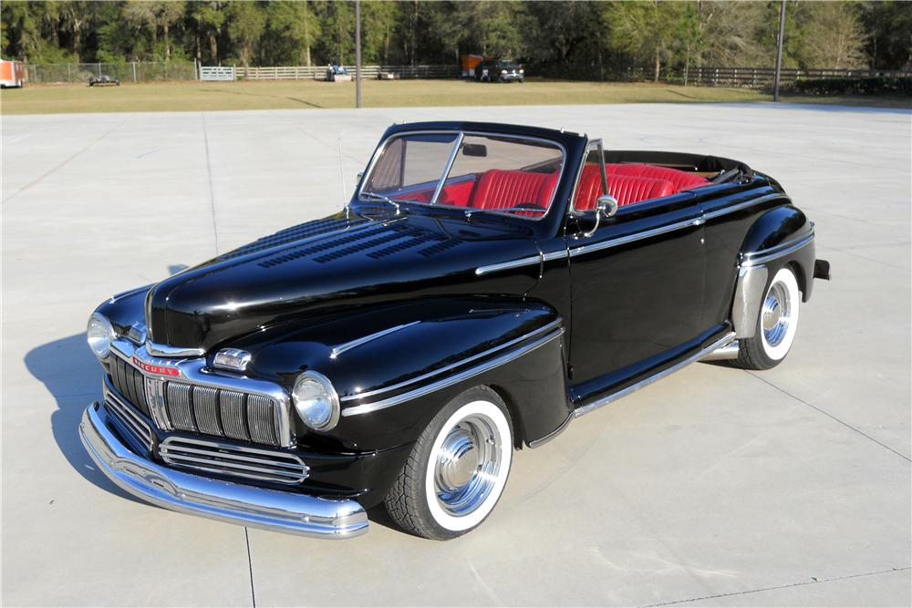 1948 MERCURY CUSTOM CONVERTIBLE - Front 3/4 - 151731