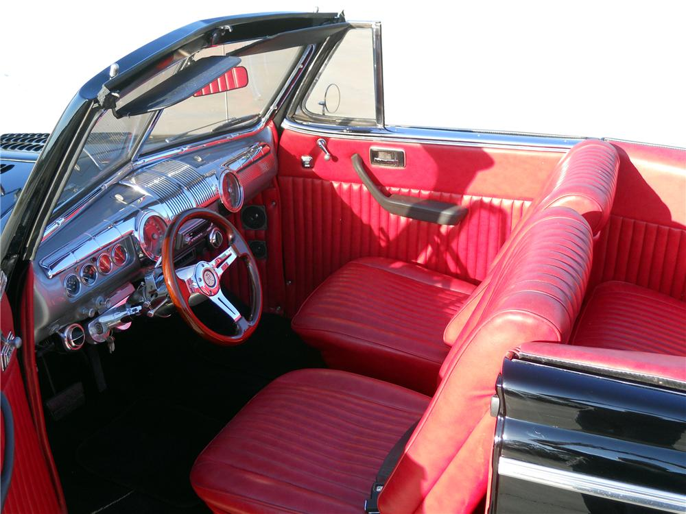 1948 MERCURY CUSTOM CONVERTIBLE - Interior - 151731