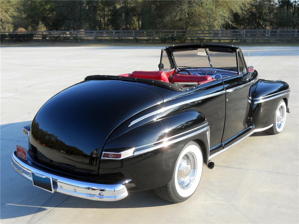 1948 MERCURY CUSTOM CONVERTIBLE - Rear 3/4 - 151731