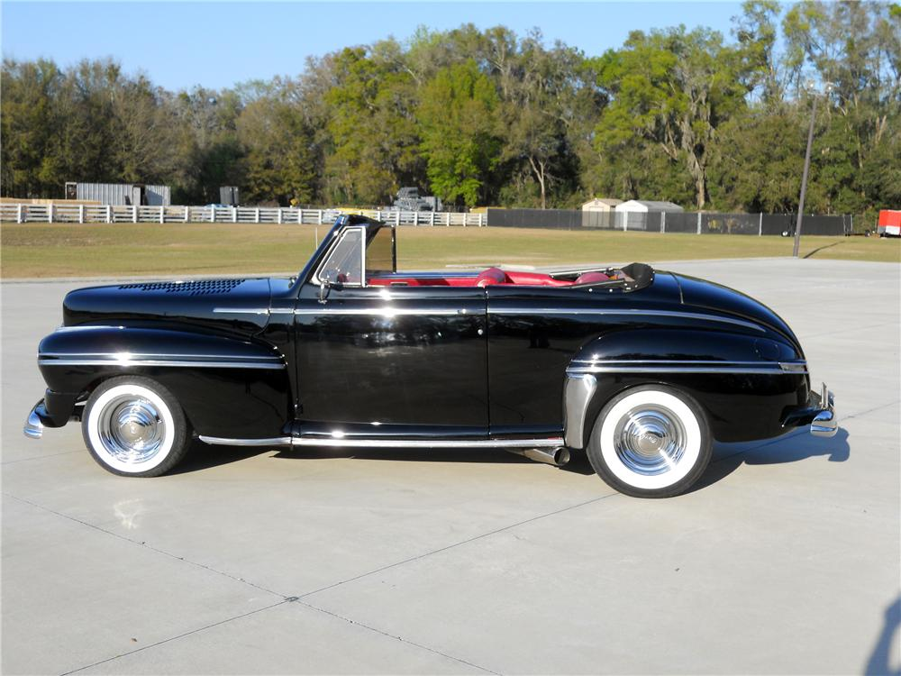 1948 MERCURY CUSTOM CONVERTIBLE - Side Profile - 151731