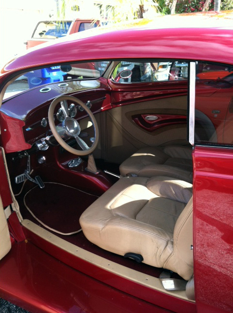 1937 FORD CUSTOM 2 DOOR COUPE - Interior - 151733