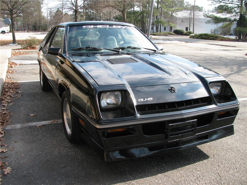 1987 DODGE SHELBY GLHS HATCHBACK - Front 3/4 - 151878