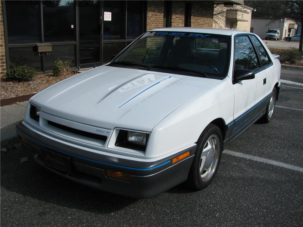 1988 DODGE SHADOW SHELBY CSX-T 2 DOOR COUPE - Front 3/4 - 151880