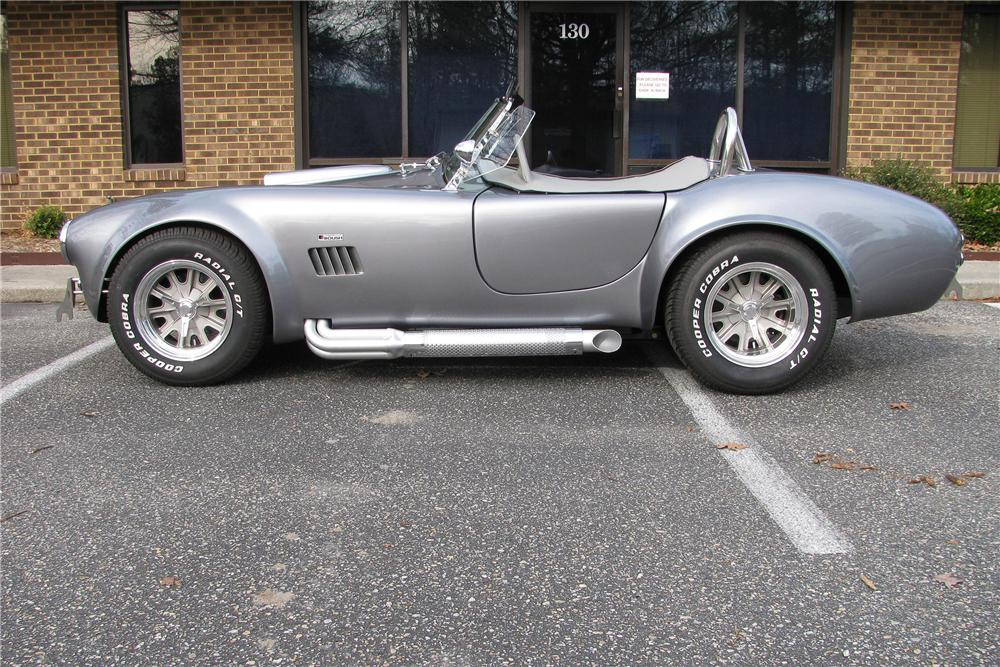 1967 SHELBY COBRA RE-CREATION ROADSTER - Side Profile - 151882