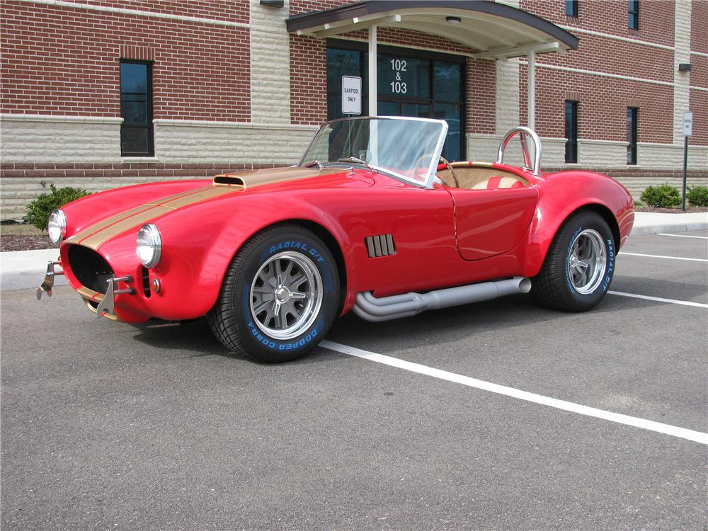 1967 SHELBY COBRA RE-CREATION ROADSTER - Front 3/4 - 151885