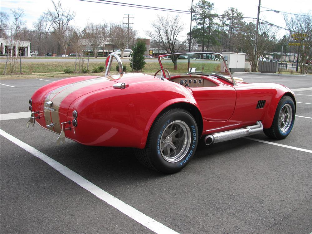 1967 SHELBY COBRA RE-CREATION ROADSTER - Rear 3/4 - 151885
