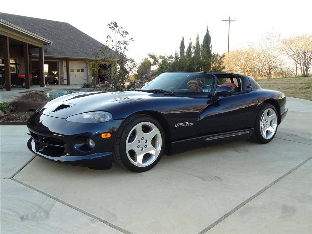 2001 DODGE VIPER RT/10 CUSTOM CONVERTIBLE - Front 3/4 - 151927
