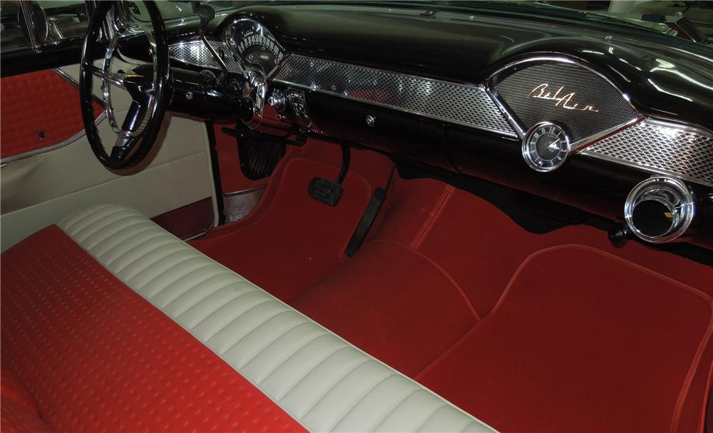 1955 CHEVROLET NOMAD CUSTOM WAGON - Interior - 151928