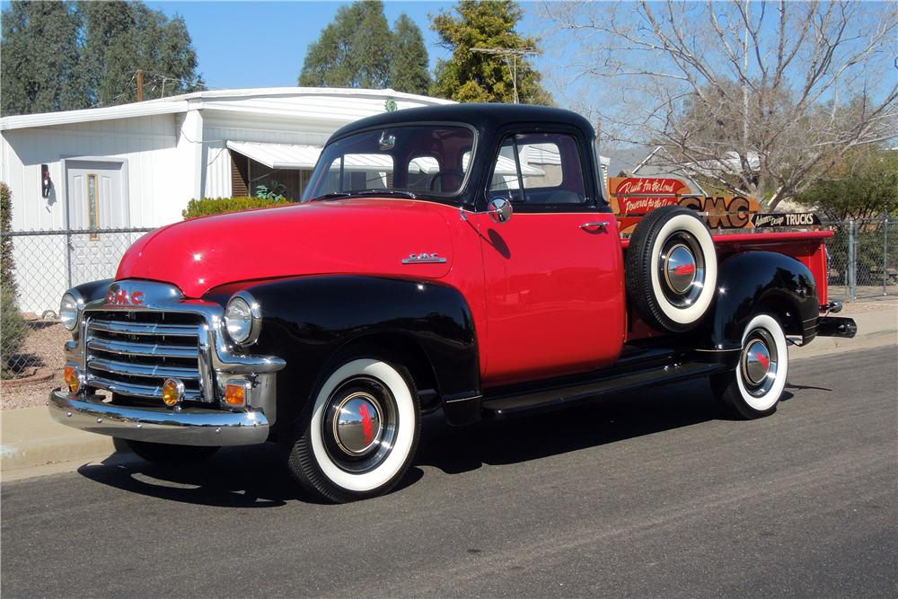 Gmc Pickup Trucks 2018 >> 1954 GMC DELUXE PICKUP - 151929