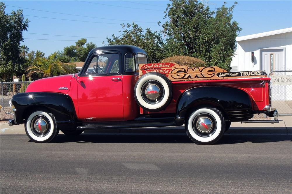 1954 GMC DELUXE PICKUP - Side Profile - 151929