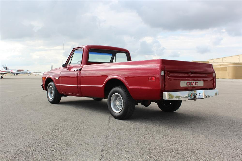 1968 GMC PICKUP - Rear 3/4 - 151930