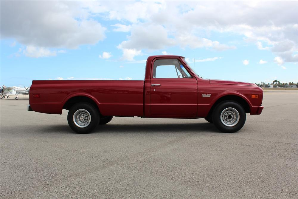 1968 GMC PICKUP - Side Profile - 151930