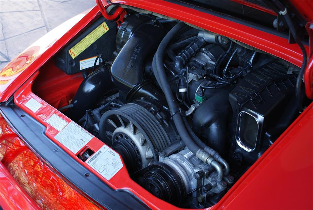 1995 PORSCHE 911 CONVERTIBLE - Engine - 151932