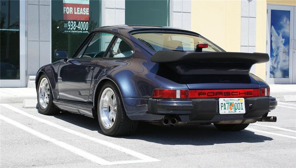 1986 PORSCHE 930 2 DOOR COUPE - Rear 3/4 - 151933