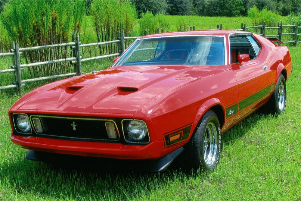 1973 Ford Mustang Mach 3 1973 Ford Mustang Mach 1