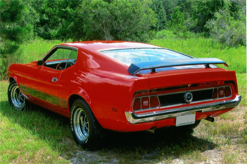 1973 ford mustang mach 1 fastback 151936. Black Bedroom Furniture Sets. Home Design Ideas