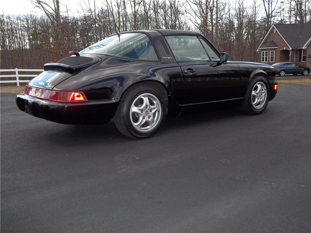 1985 PORSCHE 911 CARRERA TARGA - Rear 3/4 - 151937