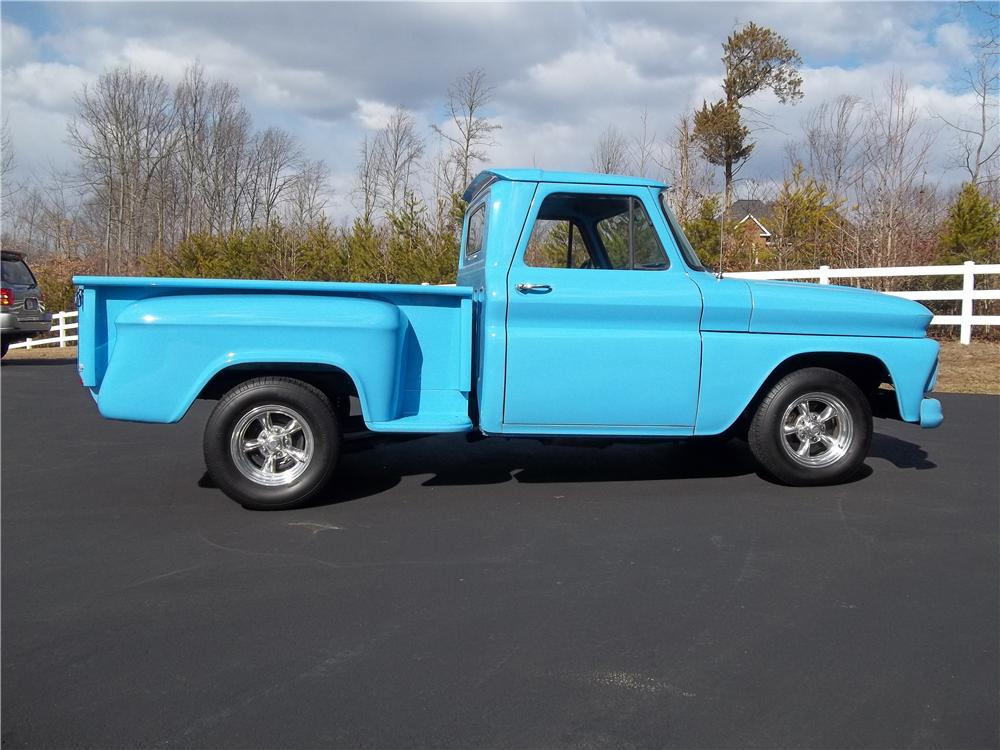 1966 CHEVROLET C-10 PICKUP - Rear 3/4 - 151938