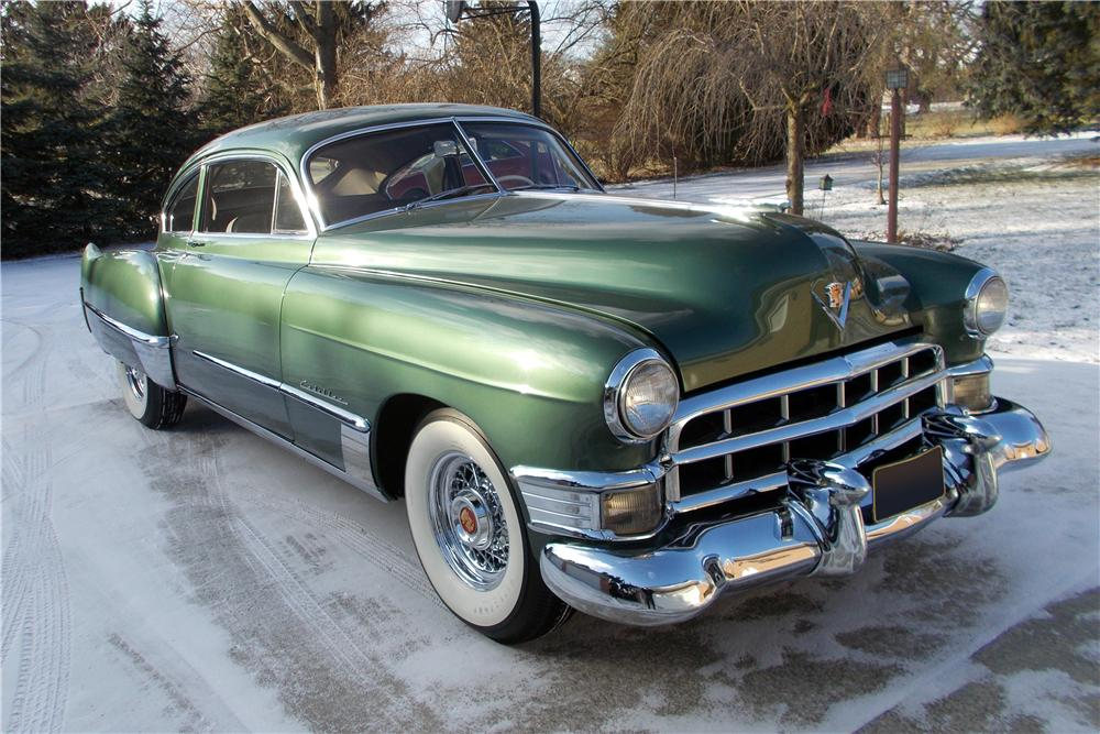 1949 CADILLAC SERIES 61 2 DOOR SEDANETTE COUPE - Front 3/4 - 151960