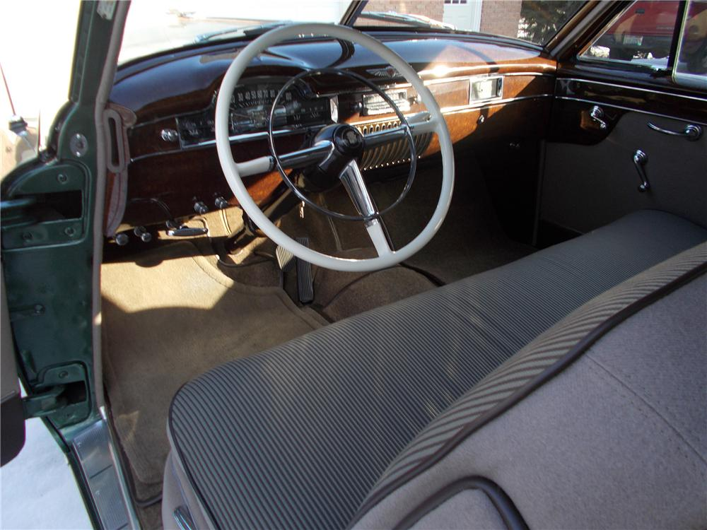 1949 CADILLAC SERIES 61 2 DOOR SEDANETTE COUPE - Interior - 151960