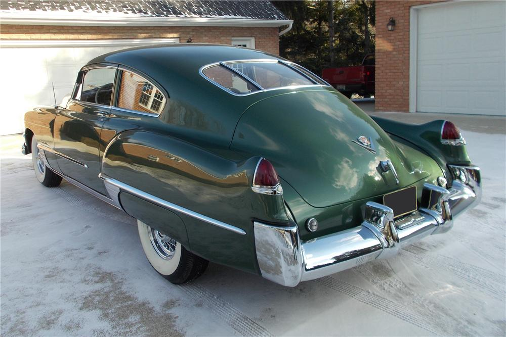 1949 CADILLAC SERIES 61 2 DOOR SEDANETTE COUPE - Rear 3/4 - 151960