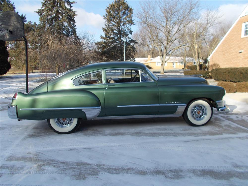 1949 CADILLAC SERIES 61 2 DOOR SEDANETTE COUPE - Side Profile - 151960