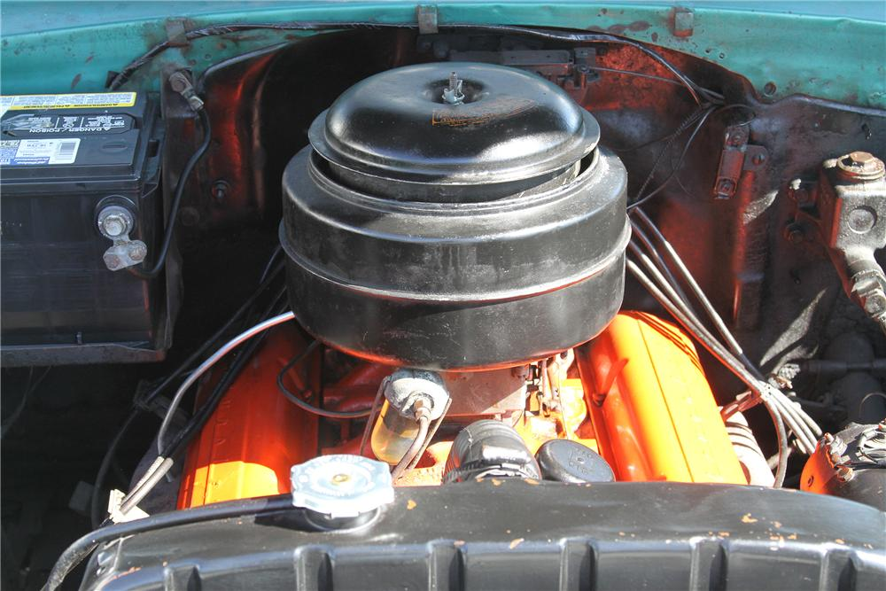 1955 CHEVROLET BEL AIR 4 DOOR SEDAN - Engine - 151986