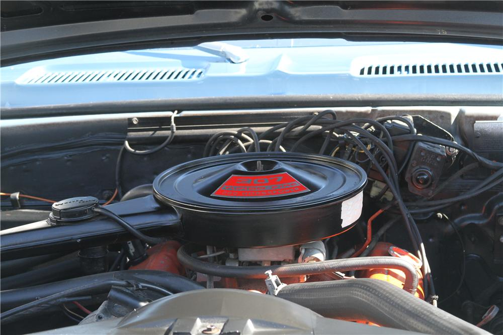 1969 CHEVROLET CAMARO 2 DOOR COUPE - Engine - 151988