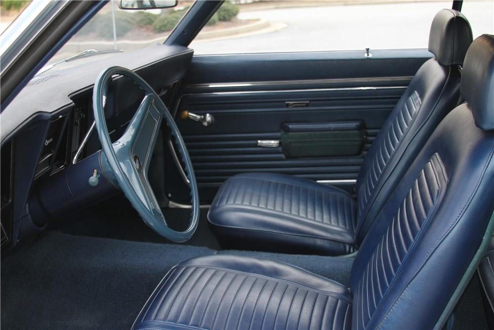 1969 CHEVROLET CAMARO 2 DOOR COUPE - Interior - 151988