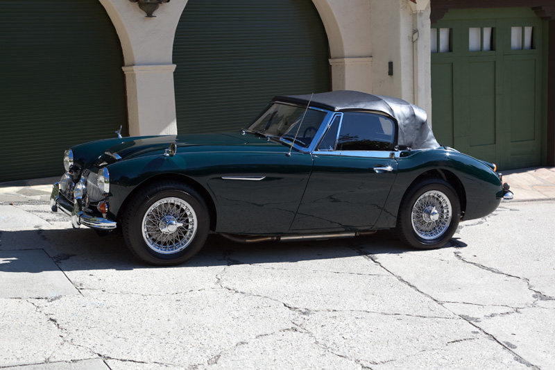 1967 AUSTIN-HEALEY 3000 MARK III BJ8 CONVERTIBLE - Side Profile - 151993